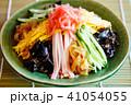 冷やし中華 夏の味覚 麺類の写真 41054055
