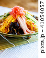 冷やし中華 夏の味覚 麺類の写真 41054057