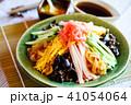 冷やし中華 夏の味覚 麺類の写真 41054064