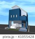 家 一戸建て 住宅のイラスト 41055428