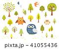フクロウと木 41055436