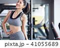 人物 女性 トレーニングジムの写真 41055689