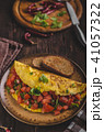 Vegetarian omelette 41057322
