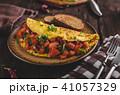 Vegetarian omelette 41057329