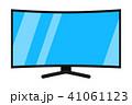 TV テレビ テレビジョンのイラスト 41061123