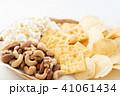 お菓子 ポップコーン クラッカーの写真 41061434
