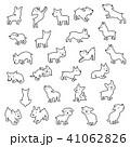 動物 犬 子犬のイラスト 41062826