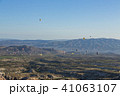 トルコ カッパドキア ウチヒサール 要塞からの朝の風景 41063107