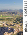 トルコ カッパドキア ウチヒサール 要塞からの朝の風景 41063112