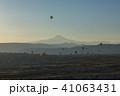 トルコ カッパドキア ウチヒサール 要塞からの朝の風景 41063431
