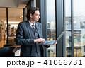 ビジネスマン 男性 ノートパソコンの写真 41066731