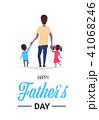 ファミリー 家庭 家族のイラスト 41068246