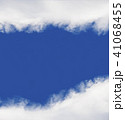 Blue sky background with clouds 41068455