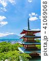 新倉山浅間公園 春 五重塔の写真 41069068