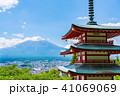 新倉山浅間公園 春 五重塔の写真 41069069