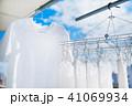 洗濯 タオル 洗濯物の写真 41069934