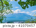 富士山 初夏 新緑の写真 41070457