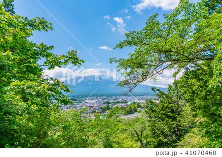 【山梨県】富士山 41070460