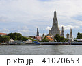 Wat Arun the temple of the dawn from the Chao Phra 41070653