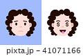 子供 顔 面のイラスト 41071166