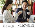 コーヒー ビジネス ビジネスウーマンの写真 41074313