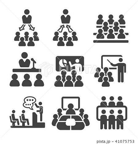 seminar icon 41075753