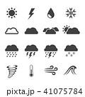weather icon 41075784