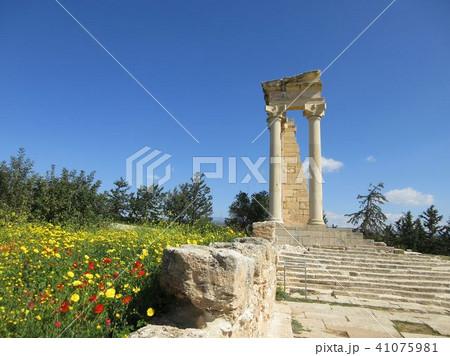 春のアポロ神殿 キプロス 41075981