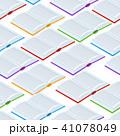 ブック 本 ベクトルのイラスト 41078049