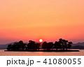 宍道湖の夕日 41080055