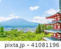 新倉山浅間公園 春 五重塔の写真 41081196