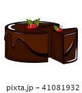デザート ベクター チョコレートのイラスト 41081932