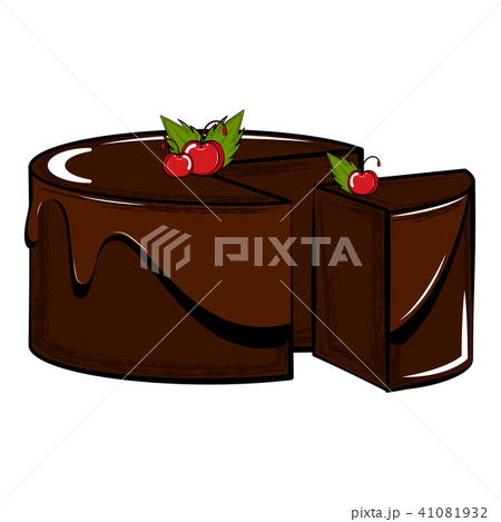 Isolated sweet dessert icon 41081932