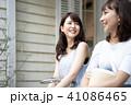 若い 女性 旅行の写真 41086465