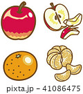 フルーツ(りんご、みかん) 41086475