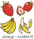 フルーツ(いちご、バナナ) 41086476