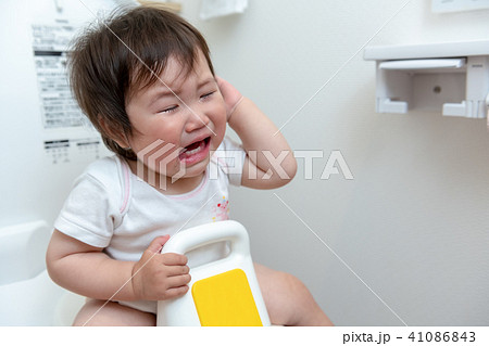トイレ トイレトレーニング 赤ちゃん 41086843