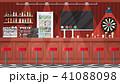 ベクトル インテリア 酒場のイラスト 41088098