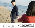 カップル 海岸 彼氏の写真 41089538