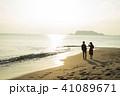 カップル 海岸 41089671