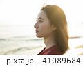 人物 女性 ポートレートの写真 41089684