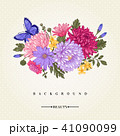 ヨメナ 嫁菜 背景のイラスト 41090099