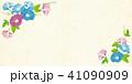 朝顔 夏 花のイラスト 41090909
