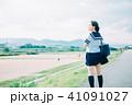 女子 女性 1人の写真 41091027