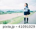 女子 女性 1人の写真 41091029