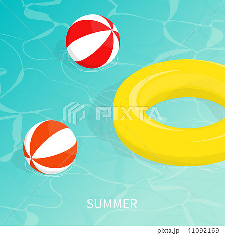 hello summer isometric pool float Beach ball   41092169