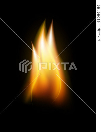 Realistic flame tongue element 41094494