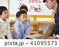 子供 交通安全指導 41095573