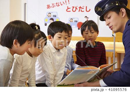 子供 交通安全指導 41095576