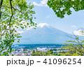 富士山 初夏 新緑の写真 41096254